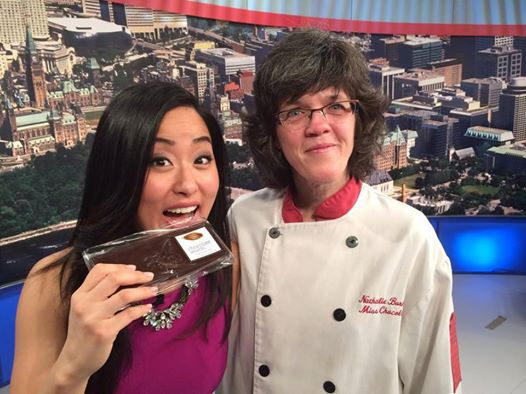 CTV Morning Live with Miss Chocolat